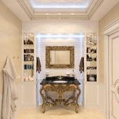 Ванная комната в частном доме, Екатеринбург