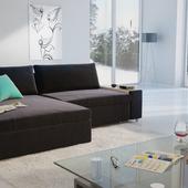 Визуализация дивана Franz Fertig в интерьере