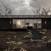 Концепт небольшого загородного дома