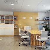 3d визуализация офисов