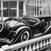 Mercedes-Benz 500 K - 1935