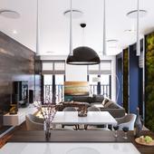Квартира с озеленением