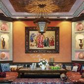 Марокканский комната отдыха