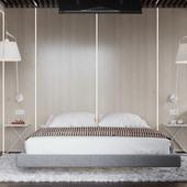 Квартира в Сочи (спальня)