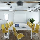 Офис архитектурной мастерской в Европе
