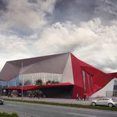 Проект здания аэропорта