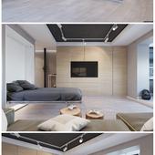 Дизайн проект однокомнатной квартиры от BRO Design Studio