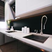 Дизайн интерьер двух комнатной квартиры.