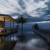 Отель на острове Бали