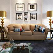 Визуализация мягкой мебели в интерьере