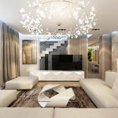Modern design of house