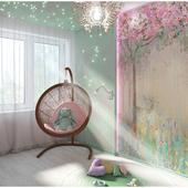 Дизайн проект детской комнаты.