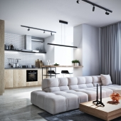 Modern apartment in KIev