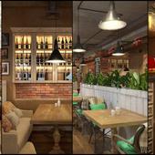 Грузинский ресторан в этно-стиле для Дизайн Студии №1