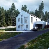Скандинавские домики