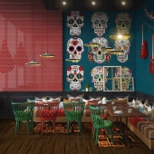 Mexican casual dining restaurant