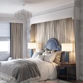 Спальня в непринужденном стиле)