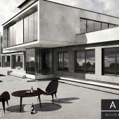 House A.F Architects in Kiev