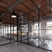 Проект офиса в Одессе