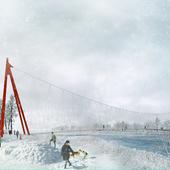 """Пешеходный мост """"LASSO"""""""