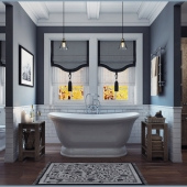 Ванная комната от SaliniS.r.l. \ ETTORA
