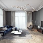 TOL'KO INTERIORS / Luxurious apartment at Krestovskiy island