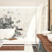 Конкурсная работа. Ванная комната от SaliniS.r.l. Модель LUCE