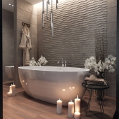 Ванная комната от SaliniS.r.l.