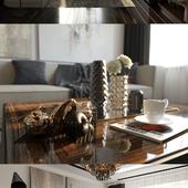 3D визуализация гостиной, тесты Corona render