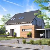 Жилой дом в Европе №007