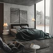 Спальня 1+1