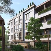Apartment in the seaside resort. Kaliningrad region