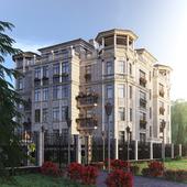 """Многоквартирный жилой дом """"премиум класса"""" в г. Калининграде."""