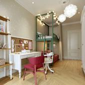 3-х комнатная квартира в Москве, детская