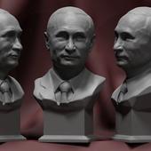 Путин В.В. бюст№2