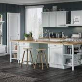 3D Визуализация кухонной мебели