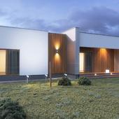 Уютный дом в современном стиле для IT-специалистов