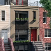 visualization of HOUSE in Brooklyn