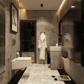 Мрамор и бетон