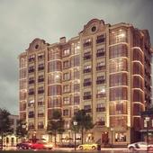 Многоэтажный жилой дом в г. Каспийск.