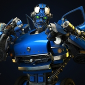 "Russian transformer - autobot ""AGOSTRON"""