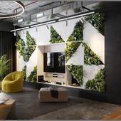 Restroom in office
