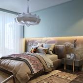 Ethno apartment. part 2