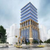 Проект здания бизнес центра ArDeco