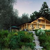Дом на озере Вуокса.