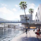 Реконструкция портовой зоны Генуи для конкурса Blueprint