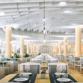 Реконструкция интерьера столового корпуса СКОК «Ай-Даниль» г. Ялта