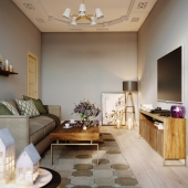 Дизайн квартиры в г. Махачкала.