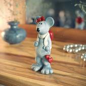 Мышка с пожитками