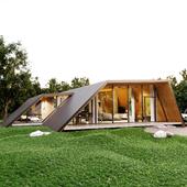 House innatural surroundings